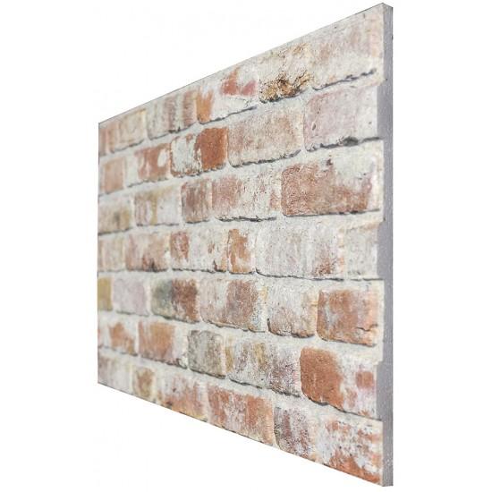 651-206  Strotex Kırık Tuğla Duvar Paneli 50x120 Ölçüleri