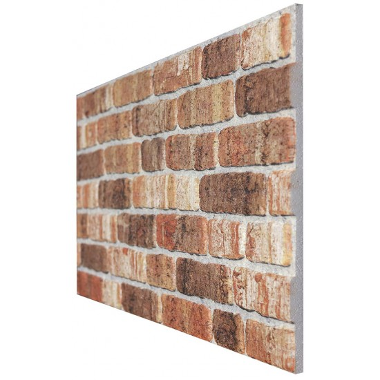 651-207 Strotex Kırık Tuğla Duvar Paneli 50x120 Ölçüleri