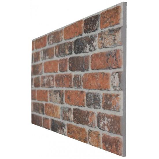 651-213  Strotex Kırık Tuğla Duvar Paneli 50x120 Ölçüleri