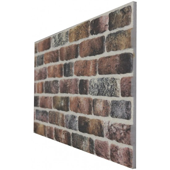 651-214 Strotex Kırık Tuğla Duvar Paneli 50x120 Ölçüleri