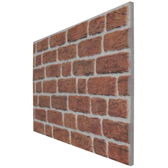 651-218 Strotex Kırık Tuğla Duvar Paneli 50x120 Ölçüleri