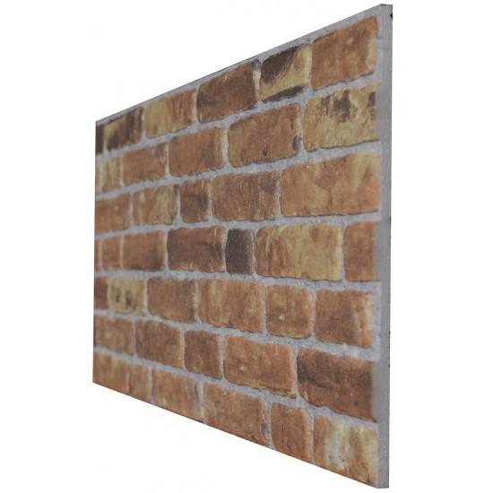 651-219 Strotex Kırık Tuğla Duvar Paneli 50x120 Ölçüleri