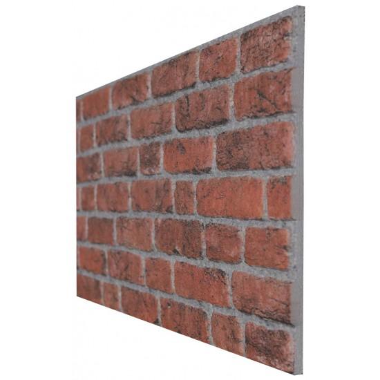 651-230  Strotex Kırık Tuğla Duvar Paneli 50x120 Ölçüleri