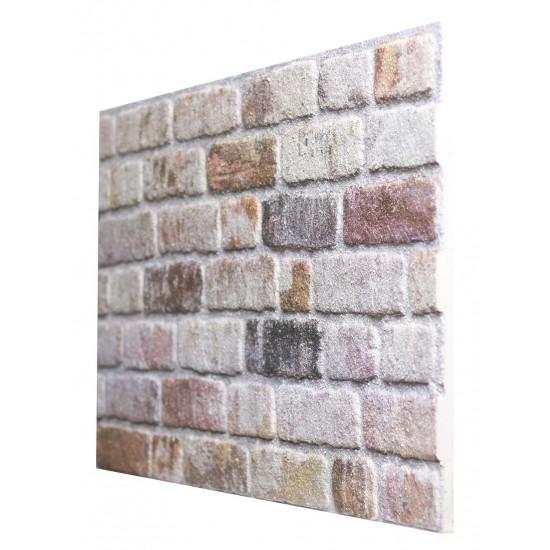 651-234 Strotex Kırık Tuğla Duvar Paneli 50x120 Ölçüleri