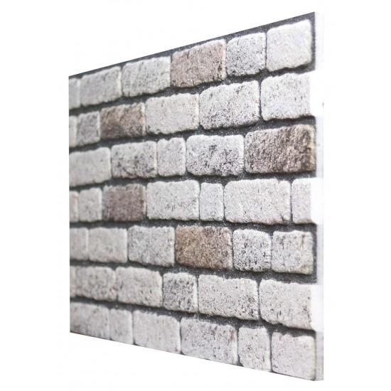 651-238  Strotex Kırık Tuğla Duvar Paneli 50x120 Ölçüleri