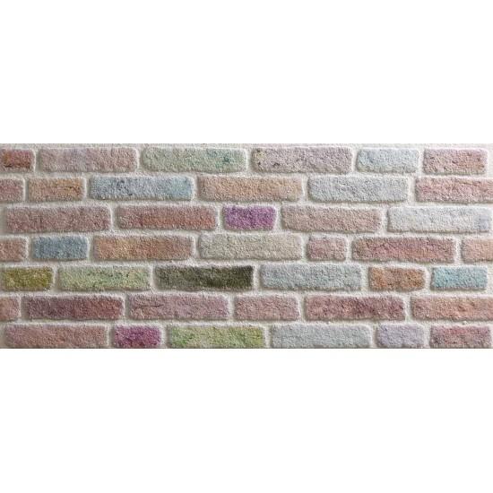 651-239  Strotex Kırık Tuğla Duvar Paneli 50x120 Ölçüleri
