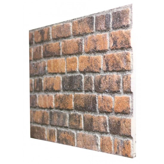 651-240 Strotex Kırık Tuğla Duvar Paneli 50x120 Ölçüleri