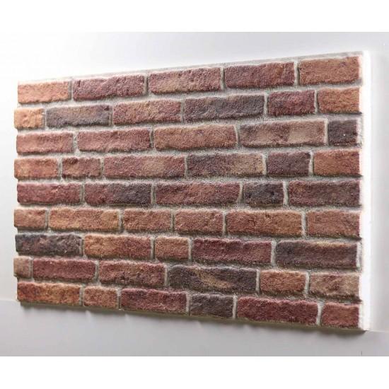 652-202  Strotex Kırık Tuğla Duvar Paneli 50x120 Ölçüleri