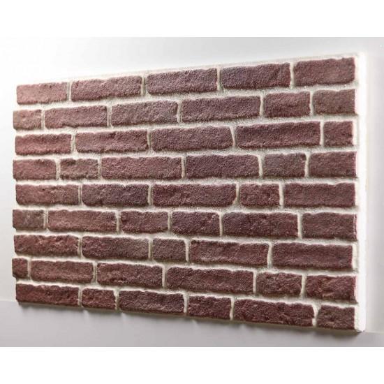 652-204 Strotex Kırık Tuğla Duvar Paneli 50x120 Ölçüleri