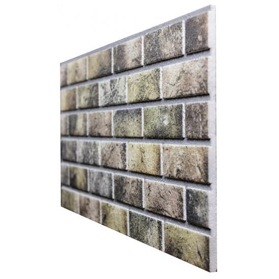 653-207 Strotex Kırık Tuğla Duvar Paneli 50x120 Ölçüleri