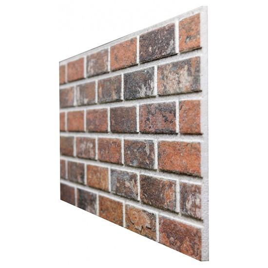 653-209 Strotex Kırık Tuğla Duvar Paneli 50x120 Ölçüleri