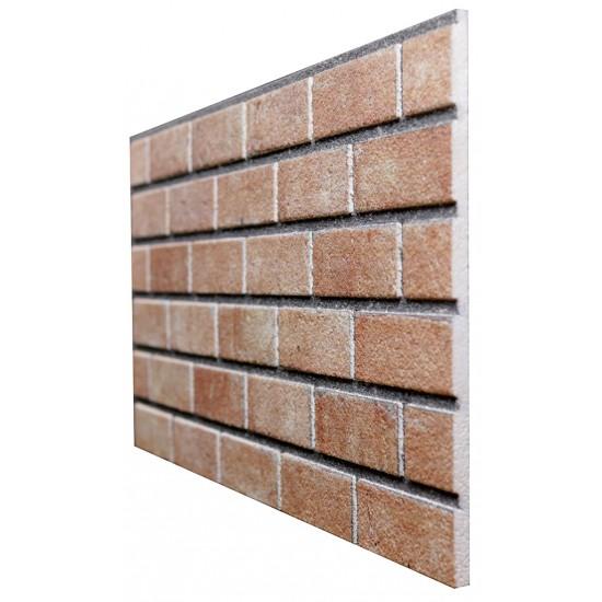 653-212 Strotex Kırık Tuğla Duvar Paneli 50x120 Ölçüleri