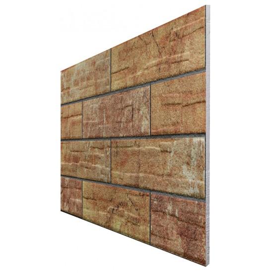 657-203 Strotex Kırık Tuğla Duvar Paneli 50x120 Ölçüleri