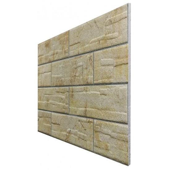 657-208 Strotex Kırık Tuğla Duvar Paneli 50x120 Ölçüleri