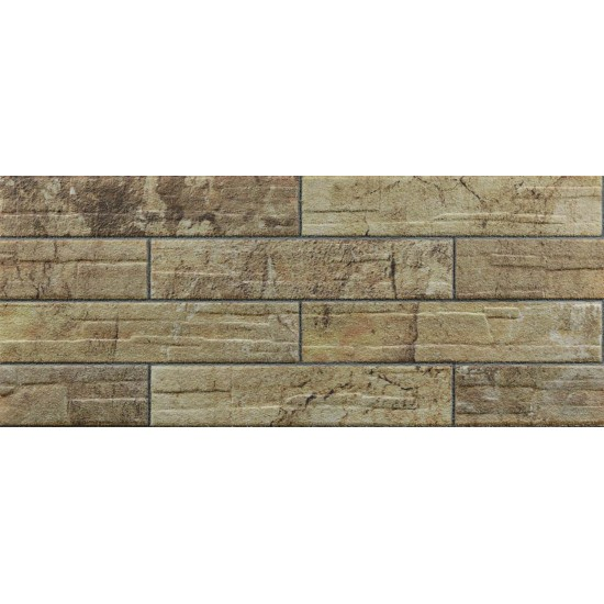 657-209 Strotex Kırık Tuğla Duvar Paneli 50x120 Ölçüleri