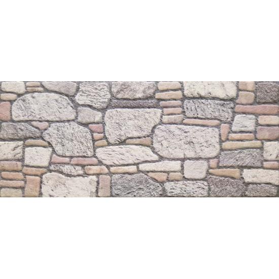 659-203 Strotex Kırık Tuğla Duvar Paneli 50x120 Ölçüleri
