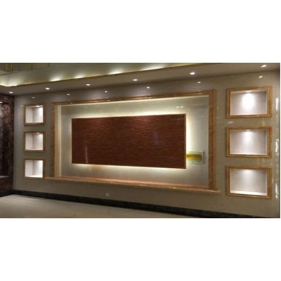 PVC Mermer Duvar Paneli Ahşap