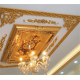 Bordo Altın Saray Tavan Dikdörtgen 90*120 cm (DD90120-AB)