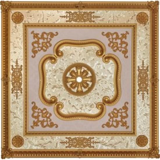 Altın Kare Saray Tavan 120*120 cm (DK120-A)
