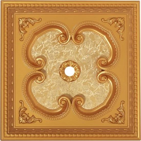 Altın Kare Saray Tavan 60*60 cm (DK60-A)