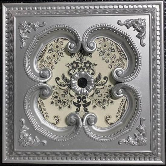 Gümüş Kare Saray Tavan 60*60 cm (DK60-G)