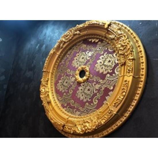 Altın Bordo Oval Saray Tavan 60 cm (DO60-AB)
