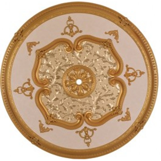 Altın Oval Saray Tavan 120 cm (DO120-A)