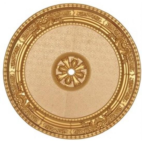 Altın Oval Saray Tavan 90cm (DO90-A)