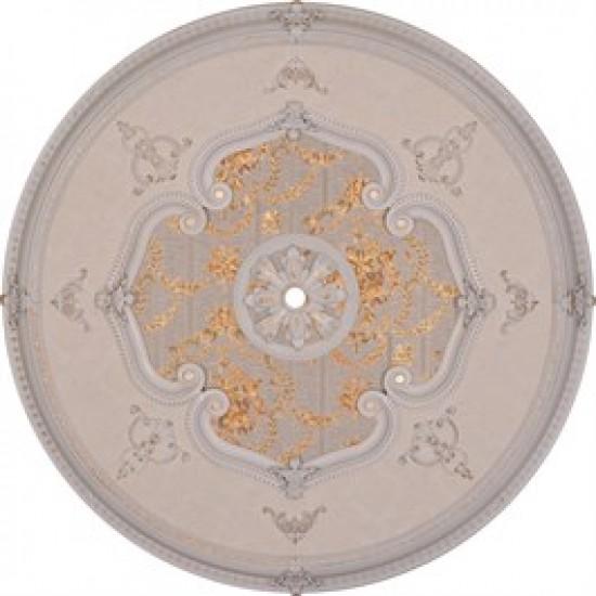 Beyaz Altın Oval Saray Tavan 120cm (DO120-BA)