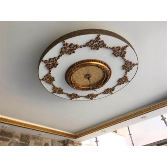 Eskitme Oval Saray Tavan 60 cm (DO60-E)