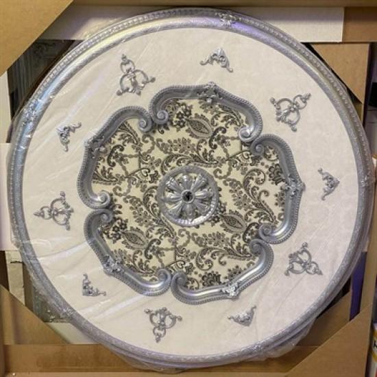 Gümüş Oval Saray Tavan 150cm (DO150-G)