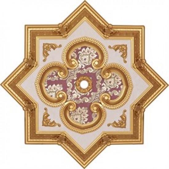 Altın Bordo Yıldız Saray Tavan 90 cm (DY90-AB)