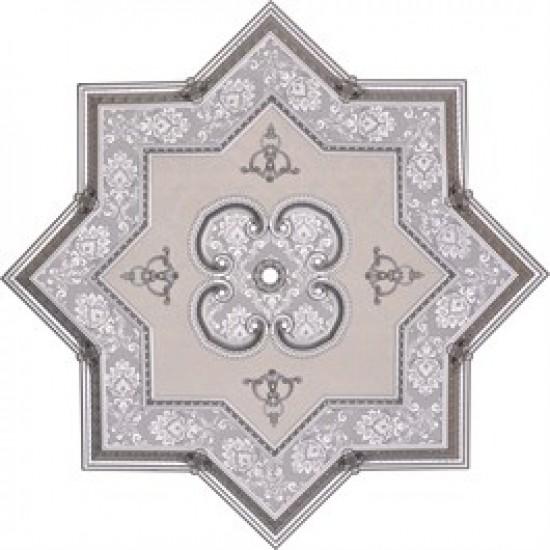 Gümüş Yıldız Saray Tavan 150 cm (DY150-G)