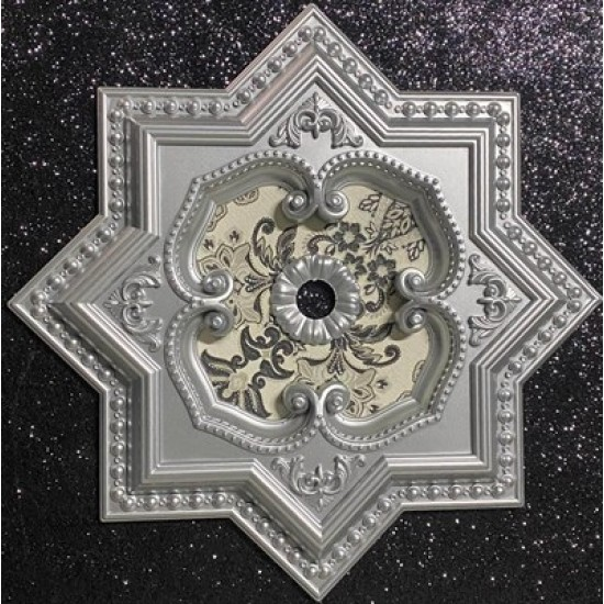 Gümüş Yıldız Saray Tavan 60 cm (DY60-G)