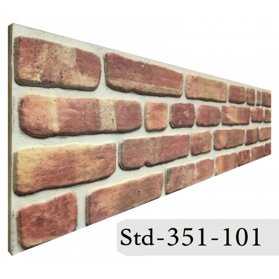351-101 Strotex Kırık Tuğla Duvar Paneli 30x120 Ölçüleri