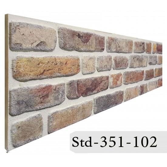 351-102 Strotex Kırık Tuğla Duvar Paneli 30x120 Ölçüleri
