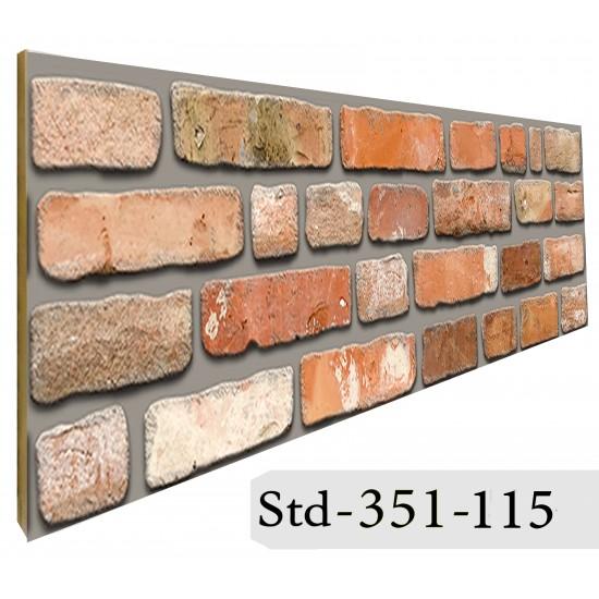 351-115 Strotex Kırık Tuğla Duvar Paneli 30x120 Ölçüleri