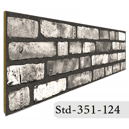 351-124 Strotex Kırık Tuğla Duvar Paneli 50x120 Ölçüleri