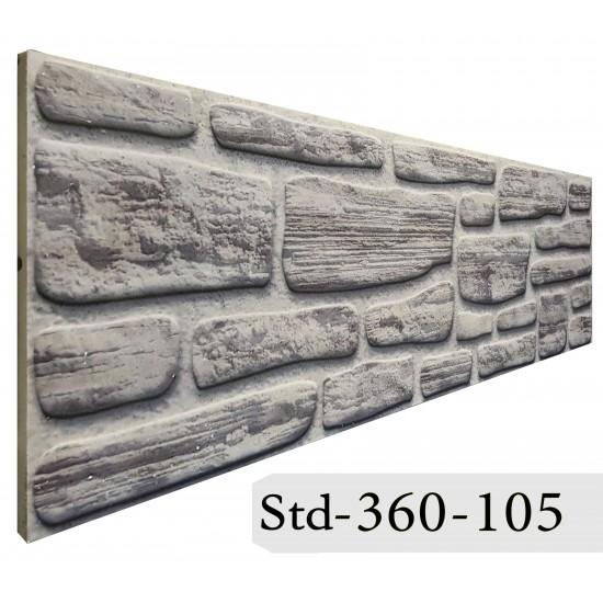 360-105 Strotex Kırık Tuğla Duvar Paneli 30x120 Ölçüleri