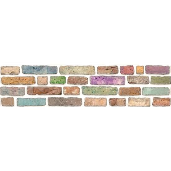 351-113 Strotex Kırık Tuğla Duvar Paneli 30x120 Ölçüleri
