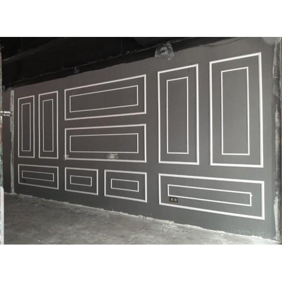 Boyanabilir  Duvar, Tavan, Mobilya Çıtası SOFIA 4 cm