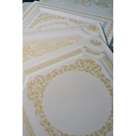 Altın 50x50 cm Tavan & Duvar paneli (RN-018 Altın)