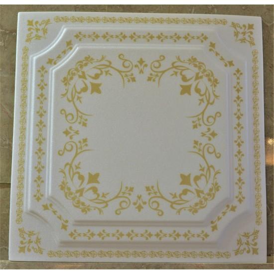 Altın 50x50 cm Tavan & Duvar paneli (F1-027 Altın)