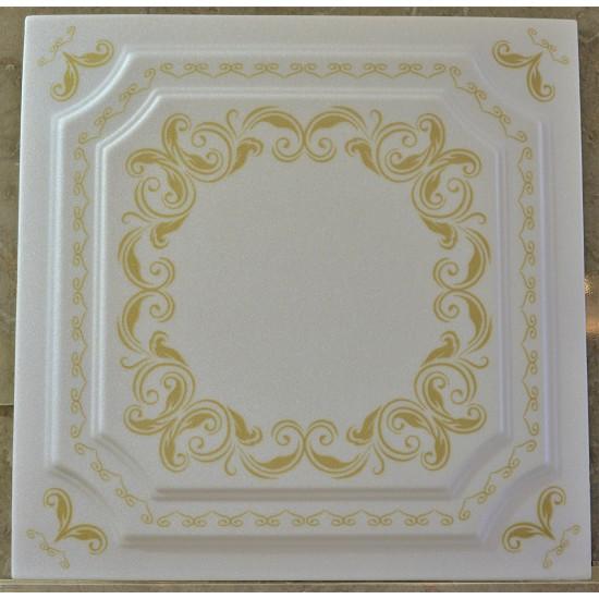 Altın 50x50 cm Tavan & Duvar paneli (F1-029 Altın)