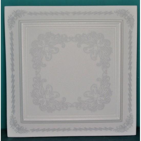 Gümüş 50x50 cm Tavan & Duvar paneli (PH-01 GÜMÜŞ)