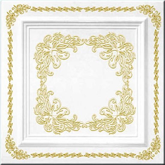 Altın 50x50 cm Tavan & Duvar paneli (RN-001 Altın)