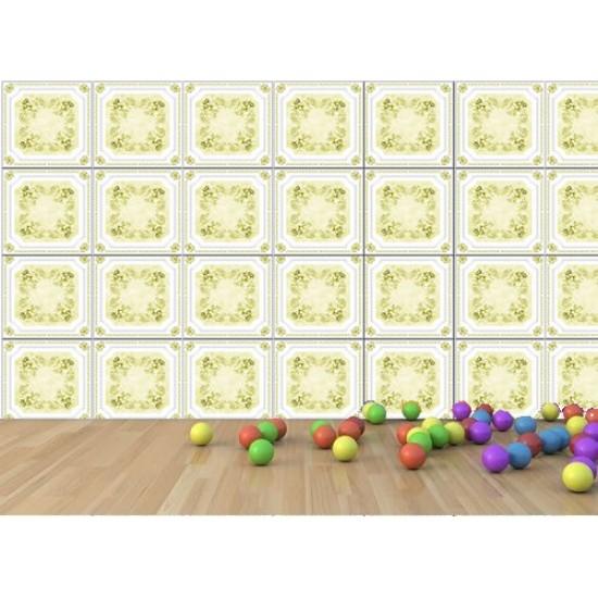Altın 50x50 cm tavan & duvar paneli (Q1-030 Altın)