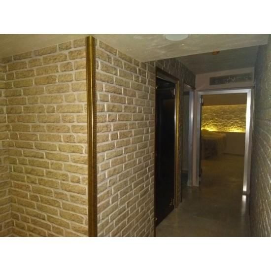 651-223 Strotex Kırık Tuğla Duvar Paneli 50x120 Ölçüleri