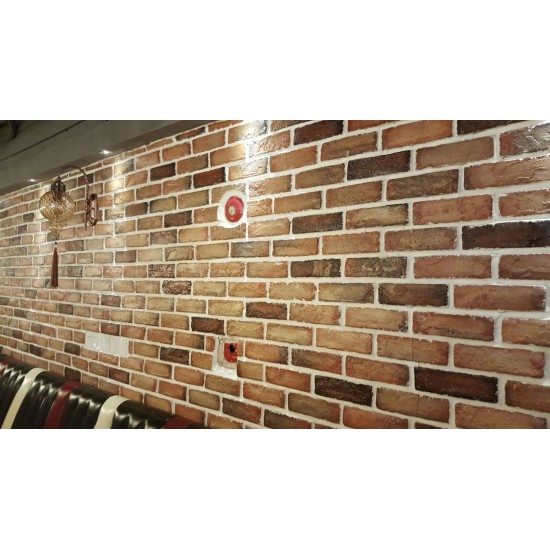 653-211 Strotex Kırık Tuğla Duvar Paneli 50x120 Ölçüleri