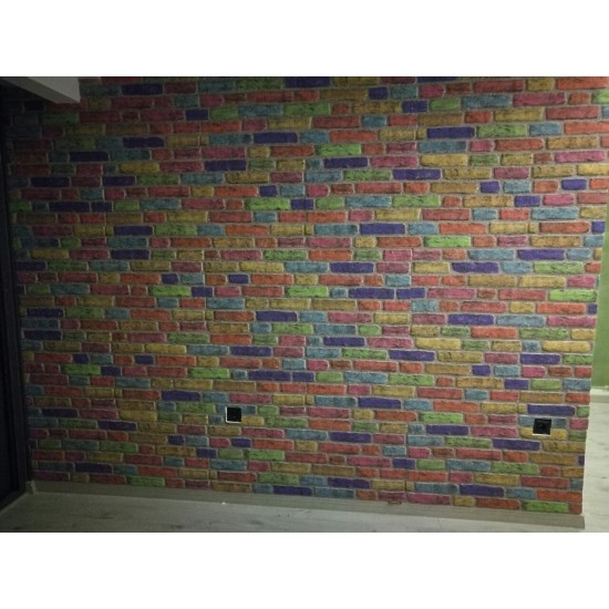 351-118 Strotex Kırık Tuğla Duvar Paneli 30x120 Ölçüleri